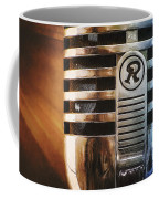 Retro Microphone Coffee Mug by Scott Norris