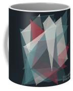 Retro Polygon Pattern Coffee Mug