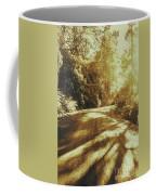 Retro Rainforest Road Coffee Mug