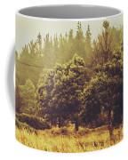 Retro Rural Tasmania Scene Coffee Mug