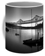 Retro San Francisco Oakland Bay Bridge Coffee Mug