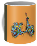 Retro Scooter 2 Coffee Mug