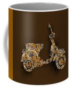 Retro Scooter 5 Coffee Mug