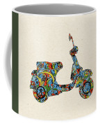 Retro Scooter Coffee Mug