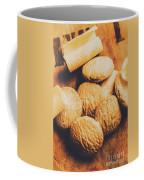 Retro Shortbread Biscuits In Old Kitchen Coffee Mug