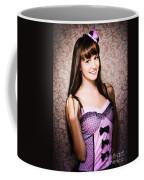 Retro Showgirl Coffee Mug