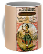 Retro Tobacco Label 1868 C Coffee Mug