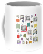 Retro T.v. Coffee Mug