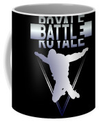 Retro Vintage 90s Chrome Skydiver Battle Royale Gamer T Shirt Coffee Mug