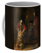 Return Of The Prodigal Son Coffee Mug by Rembrandt Harmenszoon van Rijn