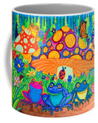 Return To Happy Frog Meadow Coffee Mug