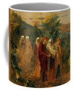 Returning From The Burial Of Christ Coffee Mug