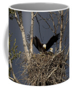 Returning Home To The Nest Coffee Mug