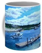 Returning To Sesuit Harbor Coffee Mug by Jack Skinner