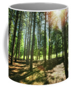 Retzer Nature Center Pine Trees Coffee Mug