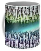 Reversible Futuristic Megalopolis City Coffee Mug