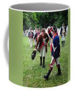 Reviewing The Troops Coffee Mug