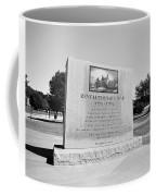 Revolutionary War Memorial 1775 To 1783 Coffee Mug