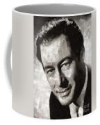 Rex Harrison, Vintage Hollywood Legend Coffee Mug