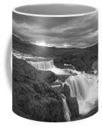 Reykjafoss Waterfall Iceland 3996 Coffee Mug