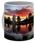 Reymann Lake Sunset - Yosemite Coffee Mug