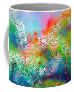 Rhapsody In Blue, And Red, And Green Coffee Mug
