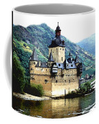 Rhine River Castle Coffee Mug