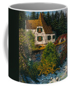 Rhine River Cottage Coffee Mug