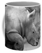Rhino Profile Coffee Mug