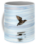 Rhinoceros Auklet Reflection Coffee Mug