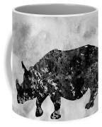 Rhinoceros-black Coffee Mug
