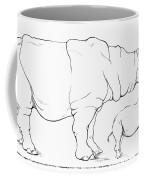 Rhinoceros Comparison Coffee Mug