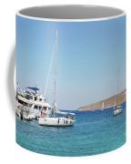 Rhodes Cup Regatta At Tilos Coffee Mug