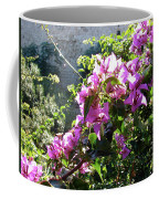 Rhodes Greece Flowers Coffee Mug