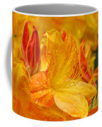 Rhodies Orange Yellow Rhododendrons Art Prints Canvas Baslee Troutman Coffee Mug