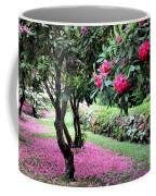 Rhododendrons Blooming Villa Carlotta Italy Coffee Mug
