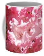Rhododendrons Flowers Art Print Pink Rhodies Baslee Troutman Coffee Mug