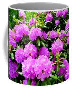 Rhododendrons In Bloom Coffee Mug