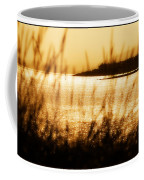 Rhos Point Viewed Through Beach Grass Coffee Mug