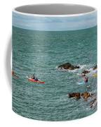 Rhoscolyn Rock Panorama Coffee Mug