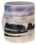 Rialto Beach Sunset On The Pacific Coast In Washington Coffee Mug