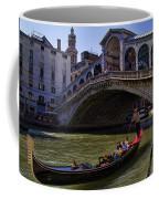 Rialto Bridge In Venice Italy Coffee Mug