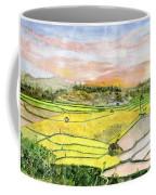 Ricefield Terrace Coffee Mug