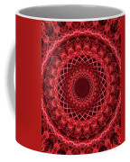 Rich Red Mandala Coffee Mug