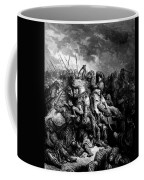 Richard I The Lionheart In Battle At Arsuf In 1191 1877 Coffee Mug