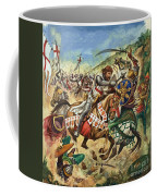 Richard The Lionheart During The Crusades Coffee Mug by Peter Jackson
