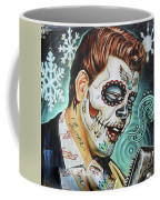 Richie Valens Day Of The Dead Coffee Mug