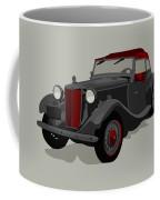 Ride Black Coffee Mug