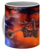 Rider In The Sky Coffee Mug by Shane Bechler