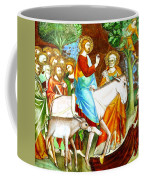 Rides Into Jerusalem Coffee Mug